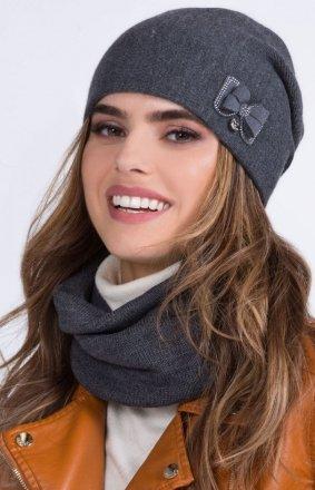 Kamea Wika czapka z kokardką