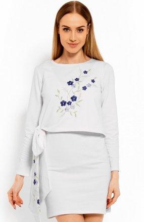 PeekaBoo 1624 sukienka biała