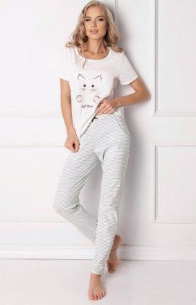 Aruelle Piżama Catwoman Long White