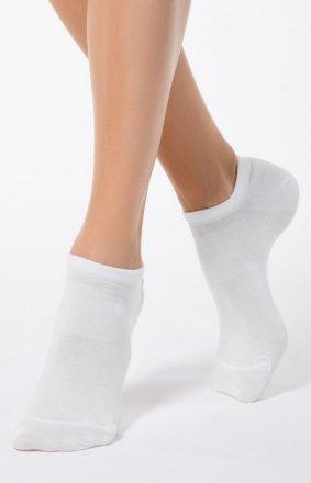 Skarpety damskie wiskozowe białe