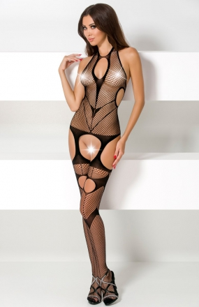Passion BS053 bodystocking czarne