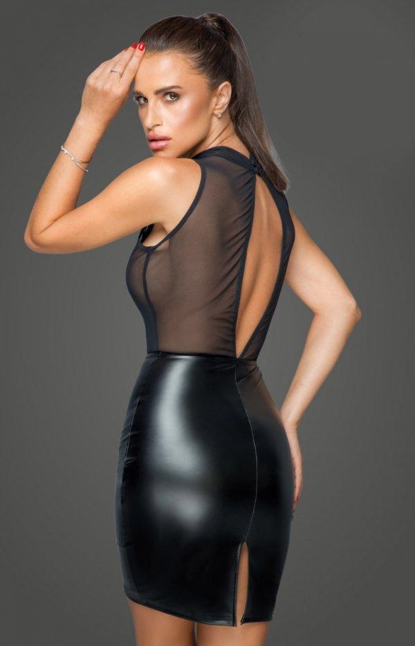 Sukienka erotyczna F222 tył