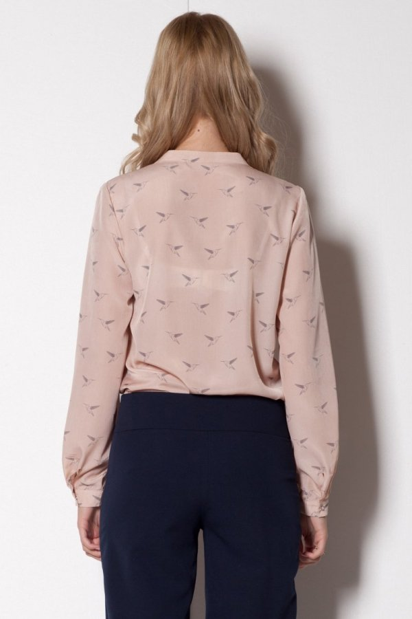 Figl M254 koszula róż