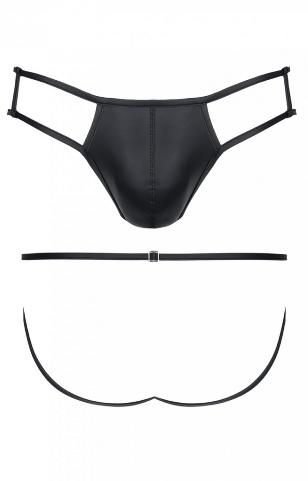 Erotyczne slipy wetlook BRI001-1