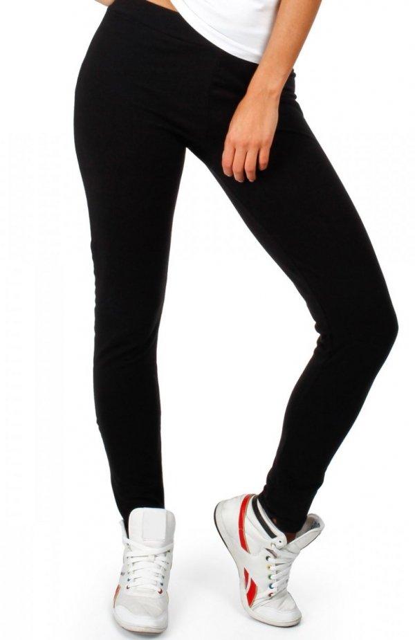 Moe MOE055 spodnie dresowe czarne