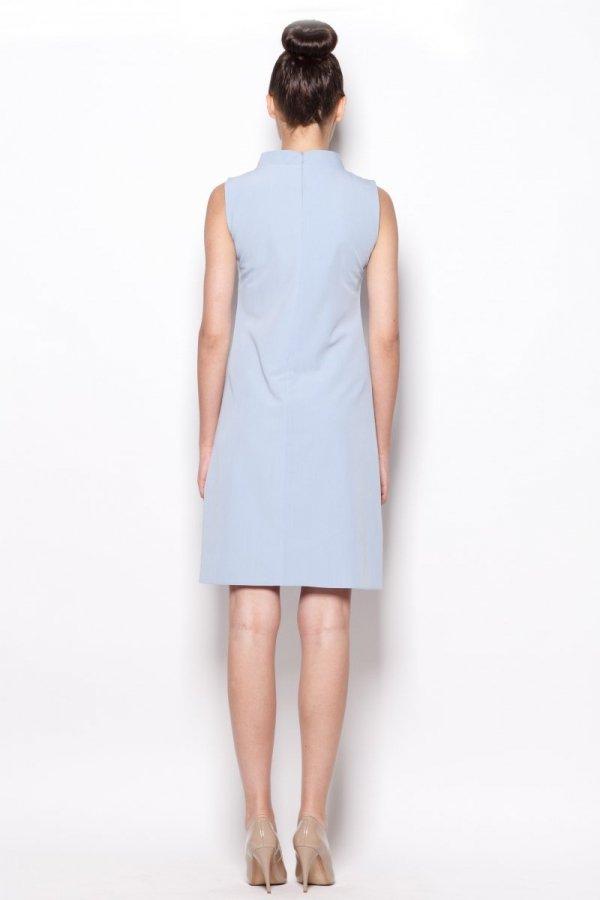 Figl M299 sukienka niebieska