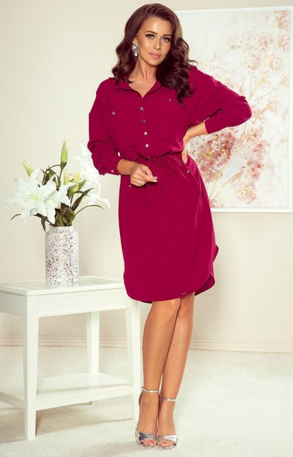 Koszulowa sukienka Numoco 258-1 Brooke-2