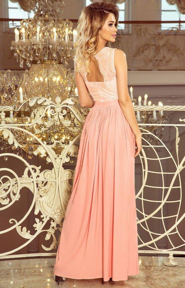 Maxi sukienka Lea Numoco 211-5 tył