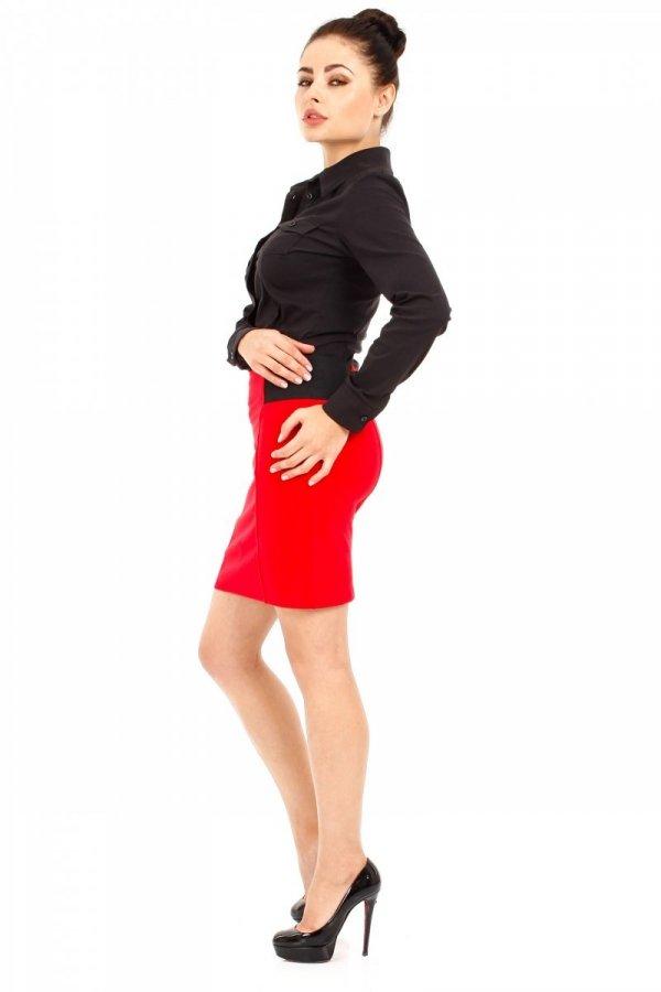 Spódnica MOE042 Moe czerwona