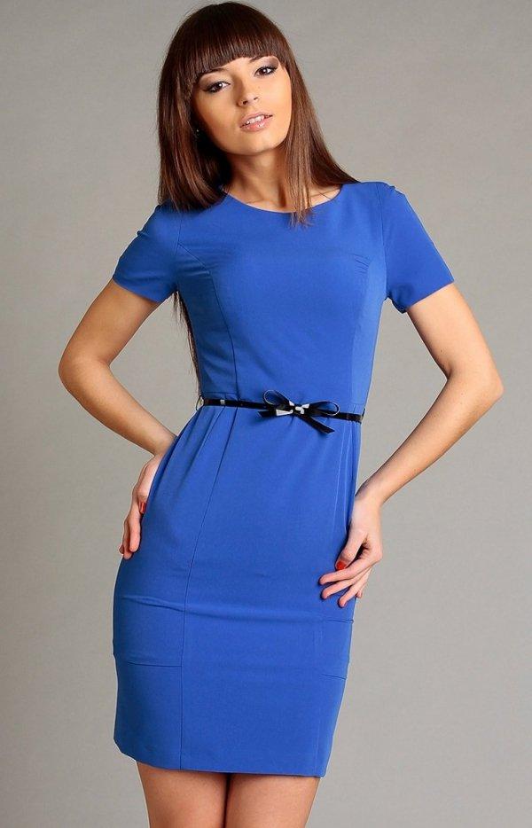 Vera Fashion Susanne sukienka chabrowa