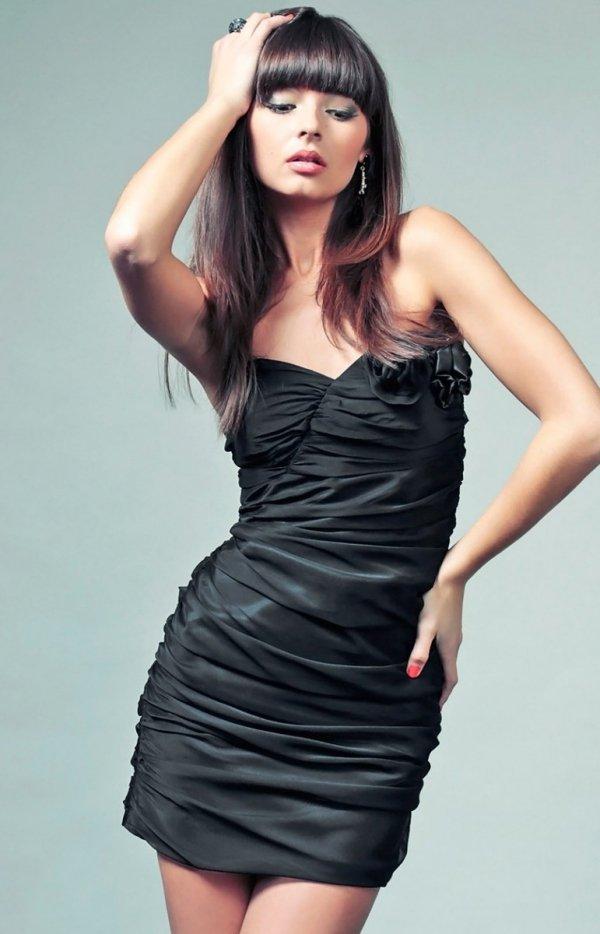 Vera Fashion Brigitte sukienka czarna