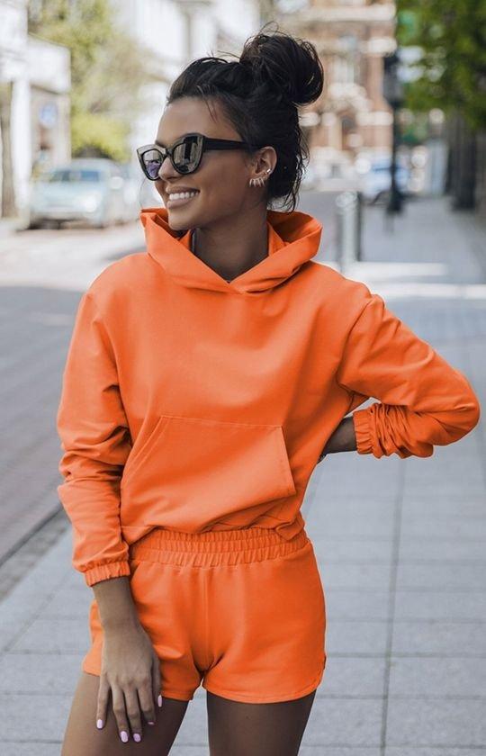 Komplet dresowy Kango pomarańczowy