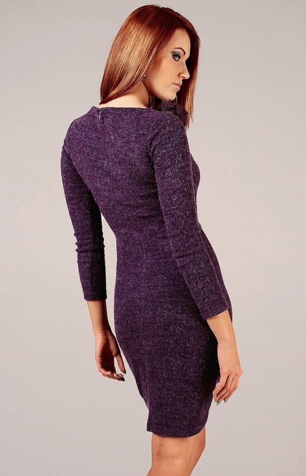 Vera Fashion Sara sukienka fioletowa