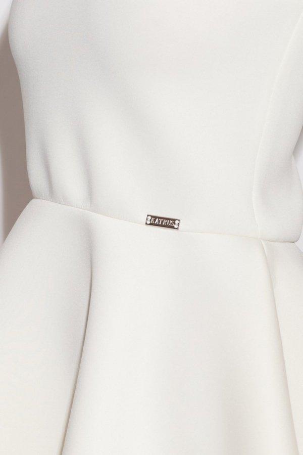 Katrus K227 sukienka ecru