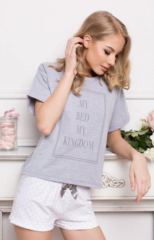 Aruelle Kingdom Short Dots & Grey Piżama