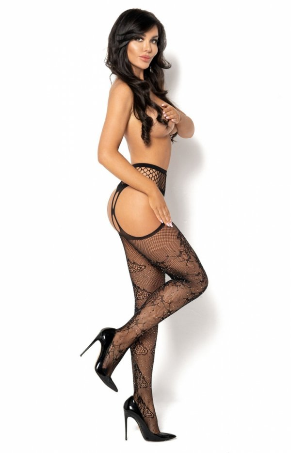 Erotyczne pończochy z pasem Pilar-1
