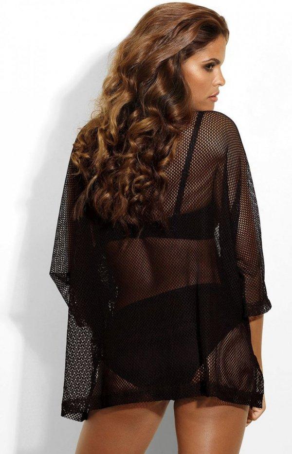 Femme Fatale siateczkowa koszulka tył