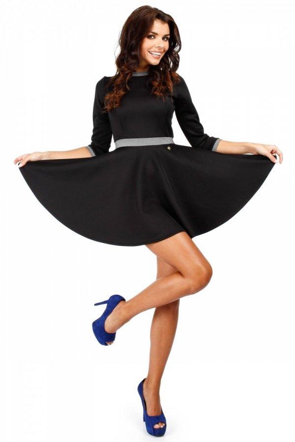 Moe MOE052 sukienka czarna