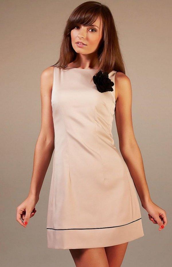 Vera Fashion Simone sukienka cappucino