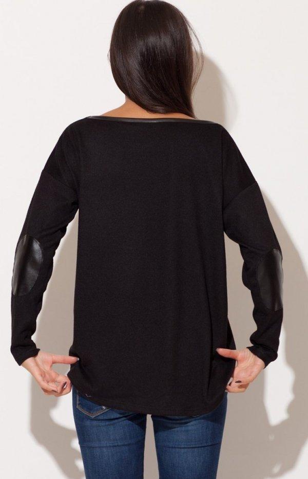 Katrus K118 sweter czarny