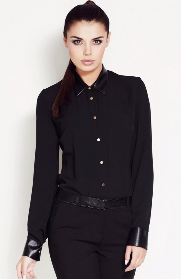 Awama A50 koszula czarna