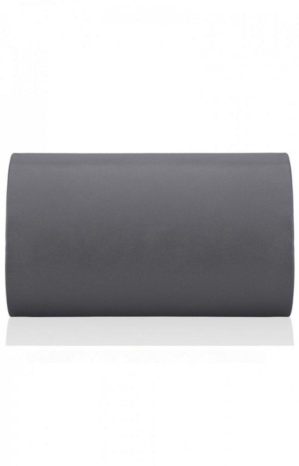 Elegancka kopertówka damska ciemno szara M5 MAT tył