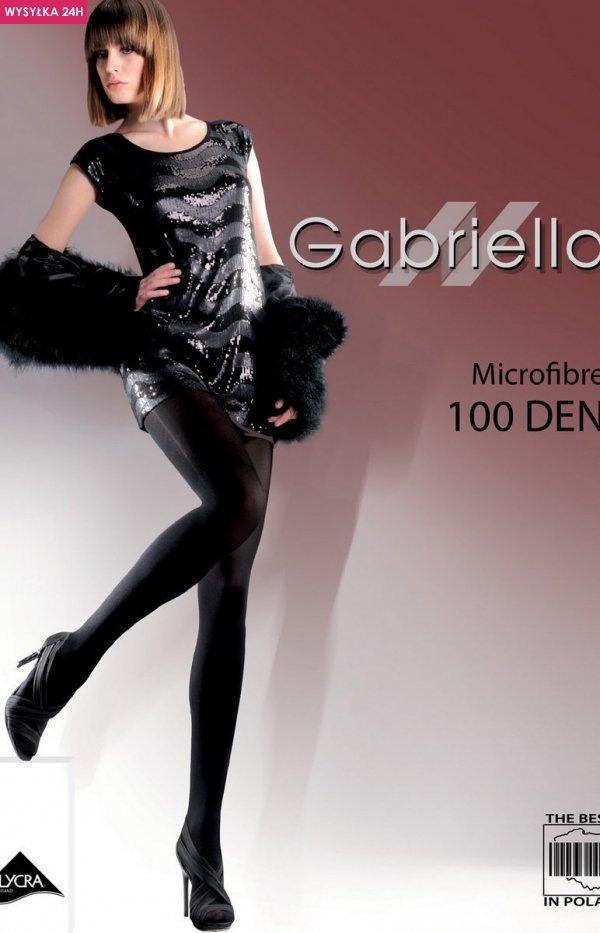 Gabriella Microfibre 100 Den Code 124 rajstopy klasyczne