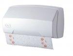 Ekaplast dozownik na ręczniki w rolce biały 09601