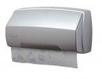 Ekaplast dozownik na ręczniki w rolce srebrny 09628