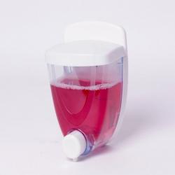 Biały dozownik mydła S8303 380 ml naścienny