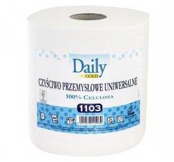 Czyściwo uniwersalne DAILY 1103 papierowe białe 2 rolki