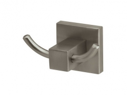Podwójny wieszak łazienkowy Bisk Nord 00572 metalowy
