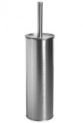 Szczotka WC Bisk 00234 ze stali nierdzewnej