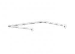 Drążek uniwersalny Bisk 72502 aluminium 90x90x90 cm do załon prysznicowych