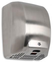 Suszarka do rąk Warmtec MaxFlow 1800W, automatyczna, srebrna ze stali nierdzewnej