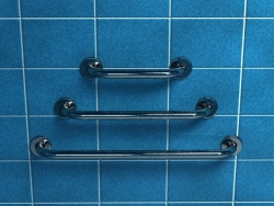 Poręcz dla niepełnosprawnych prosta 80 cm Makoinstal PSP 888