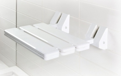 Składane siedzisko prysznicowe dla niepełnosprawnych Bisk Masterline PRO 07623 atestowane