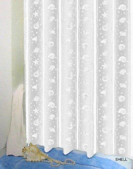 Zasłona prysznicowa Bisk PEVA SHELL 03802 180x200 cm