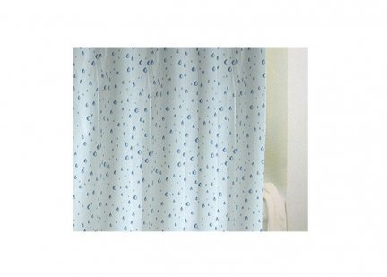 Zasłona prysznicowa Bisk PEVA DROPS 03903 180x200 cm