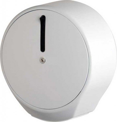 Pojemnik (podajnik) Faneco Sol (SHIBB) na papier toaletowy w rolkach, ścienny, z tworzywa ABS