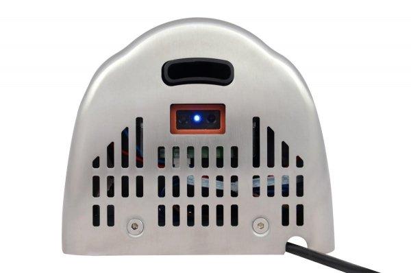 Suszarka do rąk Sanjo OMEGA 1800W z podświetleniem LED ze stali - Gwarancja 3 lata