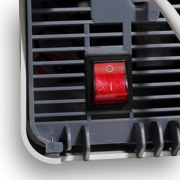 Suszarka do rąk APUS 1650 W RS-P1, cicha i ekonomiczna, obudowa z tworzywa ABS biała