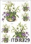 wiosna, kwiat, kwiaty, przebiśniegi, fiołki, bukiet, bukiety