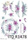Boże Narodzenie, świąteczne kompozycje kwiatowe*Christmas, Christmas flower arrangements