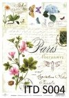Decoupage paper Soft ITD S0004