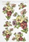 papier-ryżowy-decoupage-łąka-ogród-lato-bukiet-kwiaty-R0164