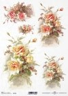 Flores de papel de arroz, rosas*Рисовые бумажные цветы, розы*Reispapier Blumen, Rosen