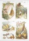Easter, chickens, flowers, spring, eggs, Easter eggs, R307