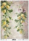 decoupage papel de la vendimia, limones*Vintage-Papier decoupage, Zitronen*Урожай бумага декупаж, лимоны