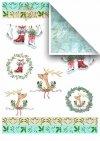 Scrapbooking papeles en juegos - juguetes de navidad * Скрапбукинг бумаги в наборах - Рождественские игрушки